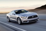 2017 Ford Mustang GT Fastback in Ingot Silver Metallic - Driving Front Right View