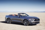 2017 Ford Mustang GT Convertible in Magnetic Metallic - Static Front Right Three-quarter View