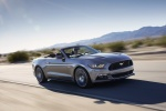 2017 Ford Mustang GT Convertible in Magnetic Metallic - Driving Front Right Three-quarter View