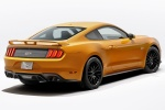 2018 Ford Mustang GT Fastback Performance Pack 1 in Orange Fury Metallic Tri-Coat - Static Rear Right View