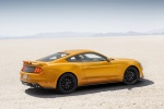 2018 Ford Mustang GT Fastback Performance Pack 1 in Orange Fury Metallic Tri-Coat - Static Rear Right Three-quarter View