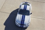 2018 Shelby GT350 Fastback in Oxford White - Static Frontal Top View