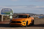 2018 Ford Mustang GT Fastback Performance Pack 1 in Orange Fury Metallic Tri-Coat - Static Front Left View