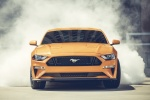 2018 Ford Mustang GT Fastback Performance Pack 1 in Orange Fury Metallic Tri-Coat - Driving Frontal View