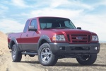 2010 Ford Ranger in Torch Red - Static Front Right View