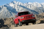 2011 Ford Ranger in Torch Red - Driving Front Right View