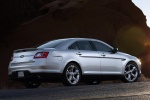 2011 Ford Taurus SHO in Ingot Silver Metallic - Static Rear Right Three-quarter View