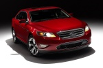 2011 Ford Taurus SHO in Candy Red Metallic Tinted Clearcoat - Static Front Right View