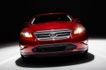 2011 Ford Taurus SHO in Candy Red Metallic Tinted Clearcoat - Static Frontal View
