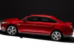 2011 Ford Taurus SHO in Candy Red Metallic Tinted Clearcoat - Static Side View