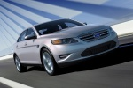 2011 Ford Taurus Limited in Ingot Silver Metallic - Driving Front Right View