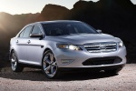 2011 Ford Taurus SHO in Ingot Silver Metallic - Static Front Right View
