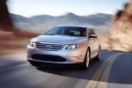 2011 Ford Taurus SHO in Ingot Silver Metallic - Driving Front Left View