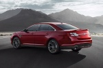 Picture of 2013 Ford Taurus SHO Sedan in Ruby Red Metallic Tinted Clearcoat