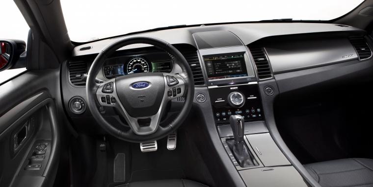 2017 Ford Taurus SHO Sedan Cockpit Picture