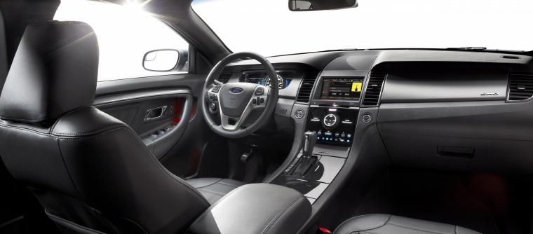 2017 Ford Taurus SHO Sedan Interior Picture