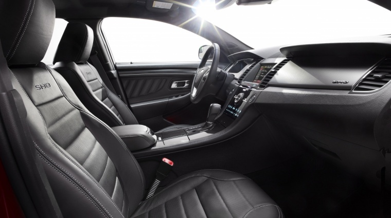 2017 Ford Taurus SHO Sedan Front Seats Picture