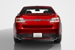 2017 Ford Taurus SHO Sedan in Ruby Red Metallic Tinted Clearcoat - Static Rear View