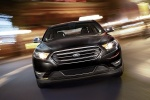 2018 Ford Taurus Sedan Limited in Shadow Black - Driving Frontal View