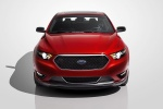 2018 Ford Taurus SHO Sedan in Ruby Red Metallic Tinted Clearcoat - Static Frontal View