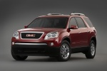 2010 GMC Acadia in Red Jewel Tintcoat - Static Front Left View