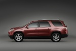 2010 GMC Acadia in Red Jewel Tintcoat - Static Side View