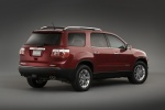 2010 GMC Acadia in Red Jewel Tintcoat - Static Rear Right Three-quarter View