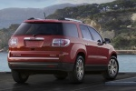 2014 GMC Acadia SLT in Crystal Red Tintcoat - Static Rear Right View