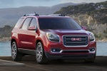 2015 GMC Acadia SLT in Crimson Red Tintcoat - Static Front Right View