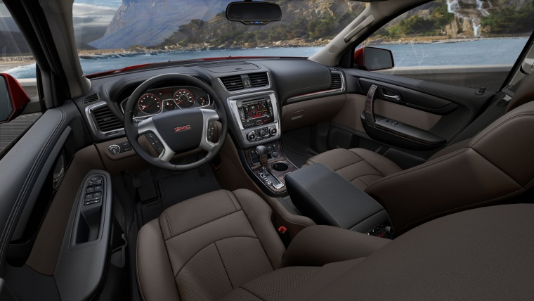 2016 GMC Acadia SLT Cockpit Picture