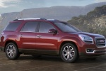 2016 GMC Acadia SLT in Crimson Red Tintcoat - Static Front Right Three-quarter View