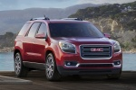 2016 GMC Acadia SLT in Crimson Red Tintcoat - Static Front Right View