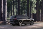 2017 GMC Acadia in Ebony Twilight Metallic - Static Rear Right Three-quarter View