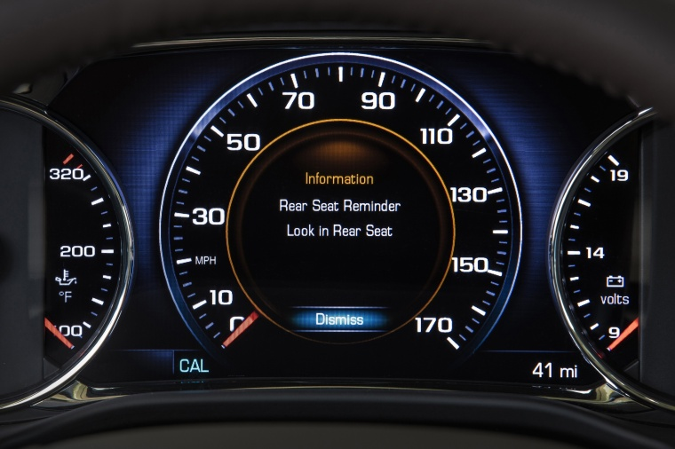 2018 GMC Acadia Gauges Picture