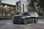 2018 GMC Acadia All Terrain in Ebony Twilight Metallic - Static Front Left Three-quarter View