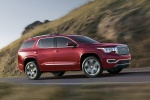 2018 GMC Acadia Denali in Crimson Red Tintcoat - Driving Front Right Three-quarter View
