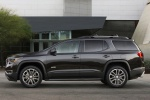 Picture of a 2019 GMC Acadia All Terrain in Ebony Twilight Metallic from a side perspective