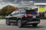 Picture of a 2019 GMC Acadia All Terrain in Ebony Twilight Metallic from a rear left perspective
