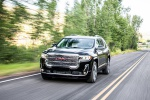 2020 GMC Acadia Denali AWD in Carbon Black Metallic - Driving Front Left View