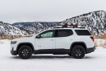 2020 GMC Acadia AT4 AWD in Summit White - Static Left Side View
