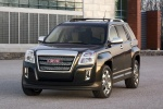 2011 GMC Terrain SLT in Carbon Black Metallic - Static Front Left View