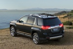 2013 GMC Terrain SLT in Carbon Black Metallic - Static Rear Left Three-quarter View