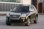 2015 GMC Terrain SLT in Carbon Black Metallic - Static Front Left View