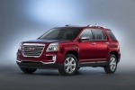 2016 GMC Terrain SLT in Crimson Red Tintcoat - Static Front Left Three-quarter View