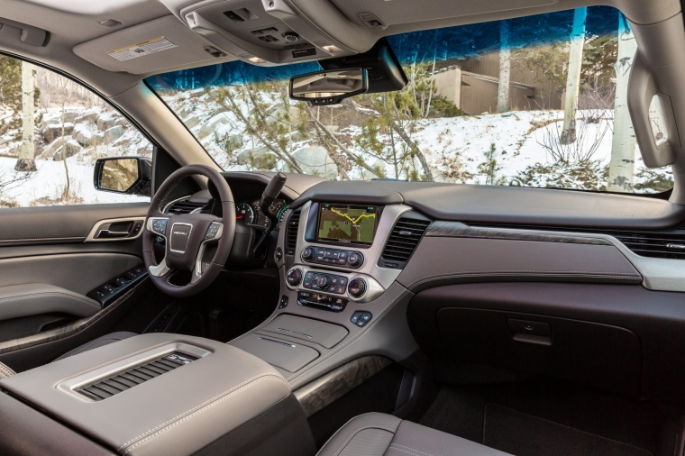 2018 GMC Yukon Denali Interior Picture