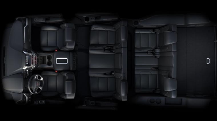 2018 GMC Yukon XL 7 Seat Interior Picture