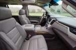 Picture of a 2018 GMC Yukon Denali's Front Seats