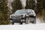2018 GMC Yukon Denali in Onyx Black - Driving Front Left Three-quarter View
