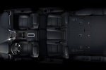 Picture of a 2018 GMC Yukon XL's 7 Seat Interior with Third Row Folded