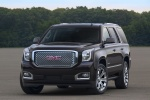 Picture of a 2018 GMC Yukon Denali from a front left perspective
